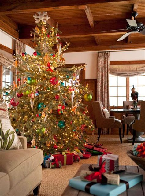 images  beautiful christmas trees  pinterest
