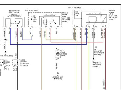 2002 Toyotum Tundra 6 Cyl Wiring Diagram by 2002 Toyota No Power To Fuel Checked