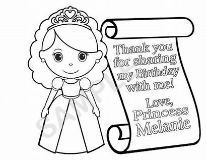 Princess Prince Printable Scroll Birthday Personalized Knight