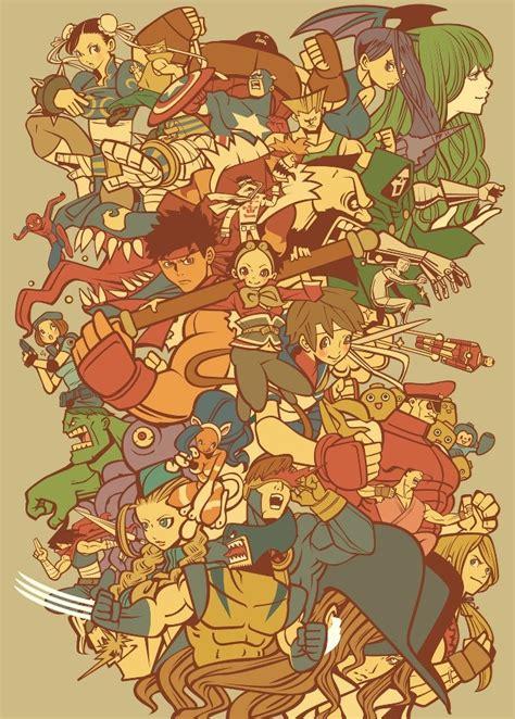 Marvel Vs Capcom 2 Illustrations And Fan Art