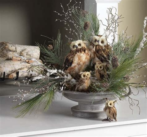 decorating  birds   holiday season