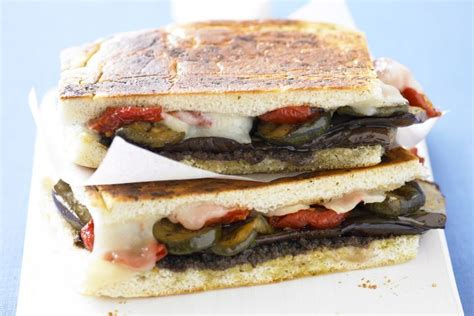chargrilled vegetable focaccia