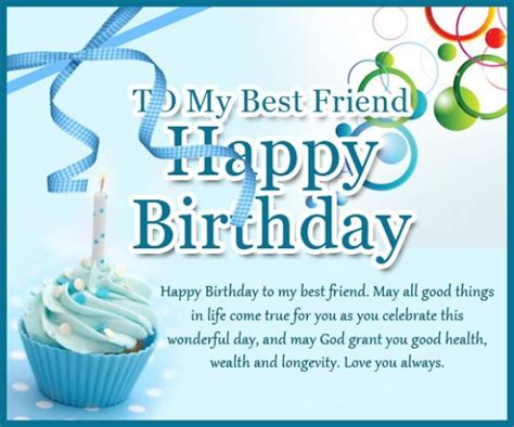 Birthday Wishes For Best Friend With Images Happy Birthday