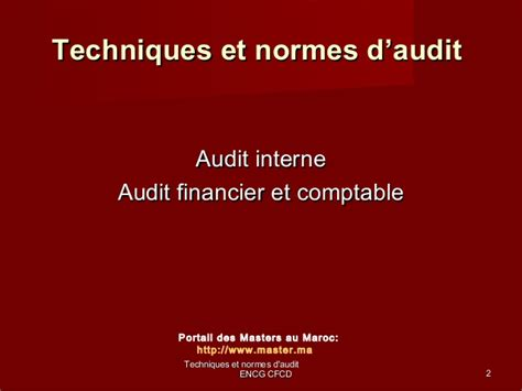 cabinet d audit financier cours master audit comptable financier www cours economie