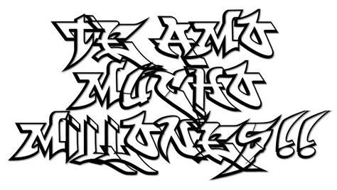 de graffitis para colorear graffitis de para dibujar arte con graffiti