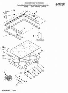 Kitchenaid Kesc307hbs5 Electric Range Parts