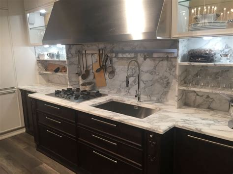 gray marble backsplash to love or not to love a marble backsplash