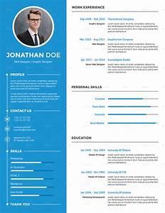 Clean Creative Resume by suavedigital