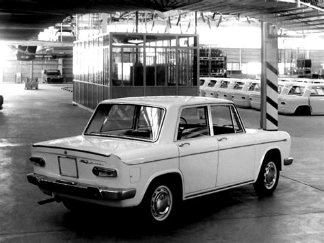 Lancia Fulvia Berlina 1963 On Motoimgcom