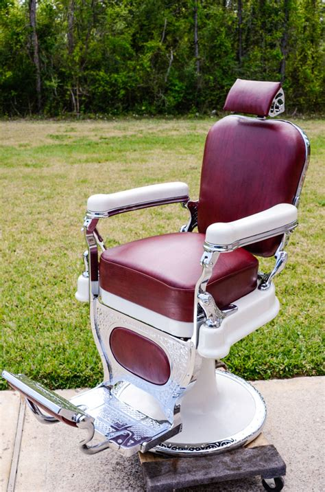 kochs barber chair models theo a kochs custom barber chairs and restorations