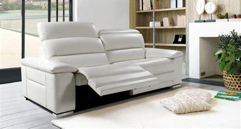 mobilier de canapé canapé mistral 3 places 2 relaxations électriques toulon