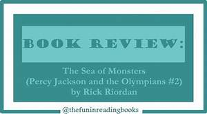 Book Review The Sea Of Monsters By Rick Riordan