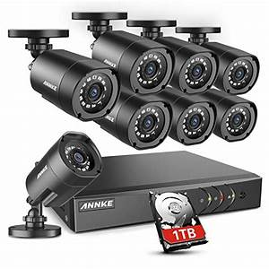 Annke Home Security Camera System 8 Channel 1080p Lite Dvr