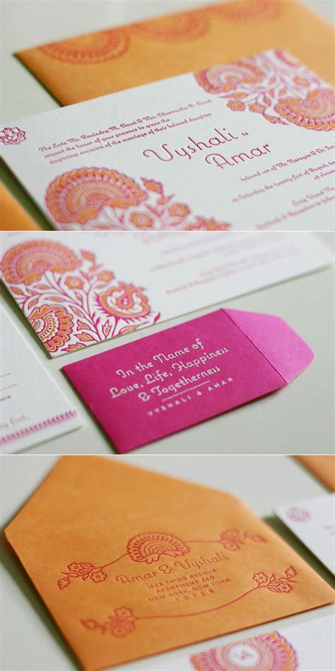 indian wedding invitation modern hindu wedding inviatations