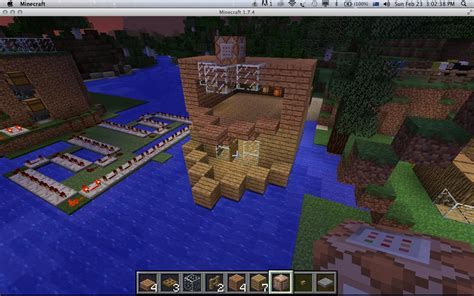 How To Make A Yacht Boat In Minecraft by How Make A Boat In Minecraft