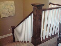 craftsman style stair railing 1000 images about stairs on newel posts 6253