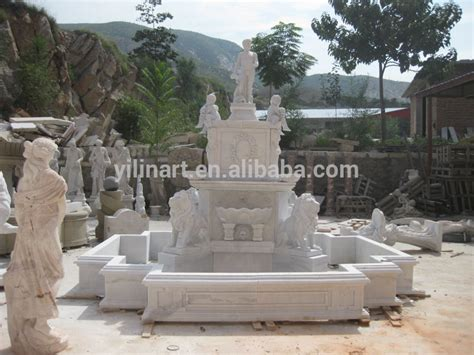 wholesale marble garden water fountains for sale