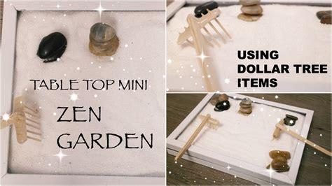 diy dollar tree zen garden affordable table top decor