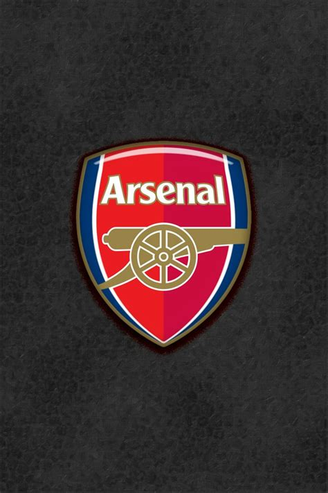 simple sleek arsenal wallpaper   iphone