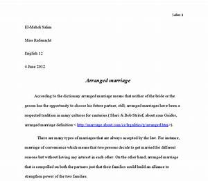 Persuasive Essay Thesis Essay On Love And Arranged Marriage Quotes Magic Realism Essay Synthesis Essay Topics also Essay Writing Thesis Statement Essay On Arranged Marriage Academic Custom Essays Essay On Arranged  Examples Of Good Essays In English