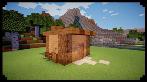 minecraft shed minecraft how to make a tool shed