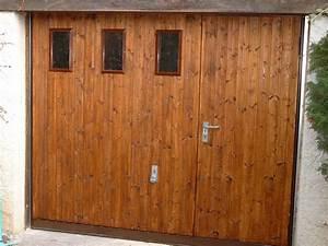 portes de garage pose installation alproconcept grenobe With porte garage basculante bois