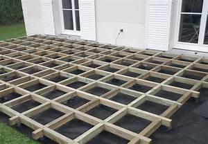 Lambourde Terrasse Composite : am nagement terrasse composite sans lambourde ~ Premium-room.com Idées de Décoration