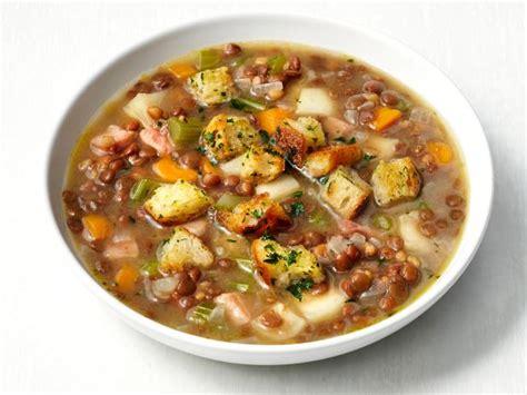 lentil  ham soup recipe food network kitchen food