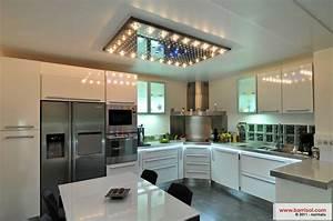 Spot Plafond Cuisine : cuisine le plafond tendu barrisol dans votre cuisine ~ Melissatoandfro.com Idées de Décoration