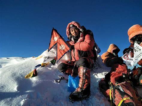 ngima nuru sherpa  youngest climber  ascend mt