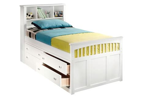 build  twin captains bed woodworking projects