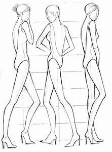 pin fashion figure templates on pinterest With figure templates for fashion illustration