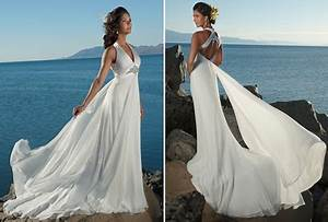 flowy beach wedding dresses With light flowy wedding dresses