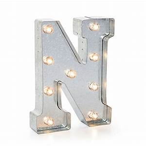 Darice silver metal marquee letter 9875quot n import it all for Darice marquee letters
