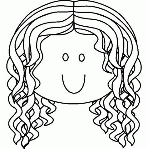 girl face coloring pages coloring home