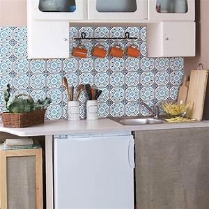 Stickers Carreaux De Ciment Cuisine : 60 stickers carreaux de ciment delft eindhoven cuisine ~ Melissatoandfro.com Idées de Décoration