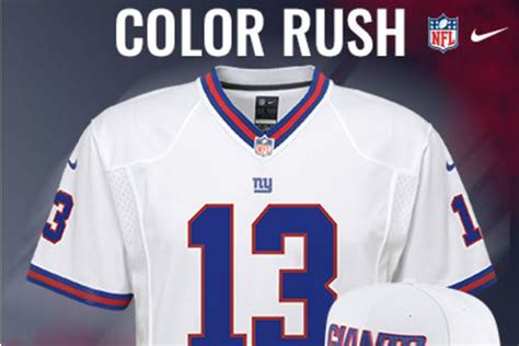 ny giants colors giants color jersey will feature classic white