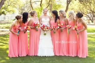 chagne color bridesmaid dress coral bridesmaid dresses ipunya