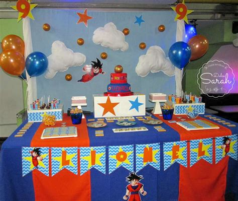 dragon ball birthday party ideas photo 6 of 13 catch
