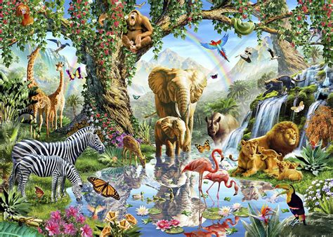 Baby Jungle Animals Wallpaper - awesome 3d images of baby jungle animals wallpaper hd