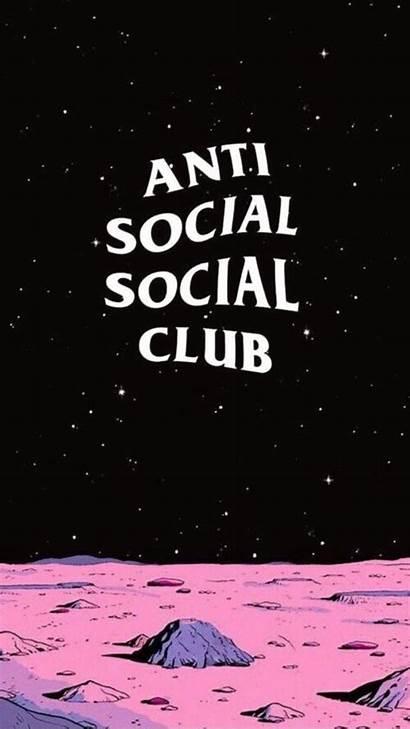 Iphone Social Anti Club Background Phone Hypebeast