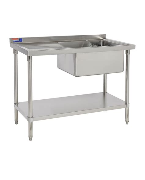 small stainless steel kitchen table commercial kitchen sink ssrb424 2 stainless steel tables