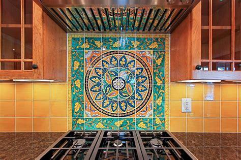 italian tile backsplash traditional kitchen dc metro