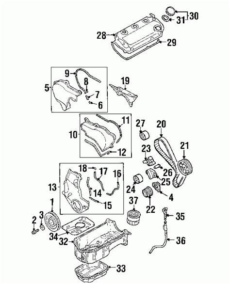 Mitsubishi Eclipse Engine Diagram Automotive Parts