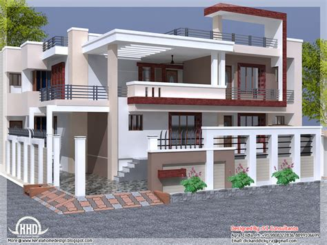 Home Design Free : India House Design With Free Floor Plan
