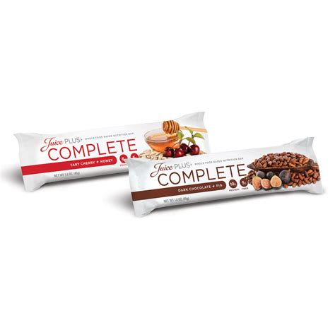 Complete Bar by Complete Bars Variety Juice Plus