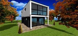Cube Plan Maison Architecte Constructeur Cubique