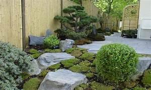 Japanische Gärten Selbst Gestalten : japangarten in berlin garten bonsai schiefer steine ~ Lizthompson.info Haus und Dekorationen