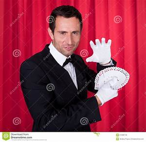 Portrait Of Magician Stock Photo - Image: 57428718