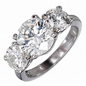 mg three stone diamond platinum engagement ring for sale With three diamond wedding rings